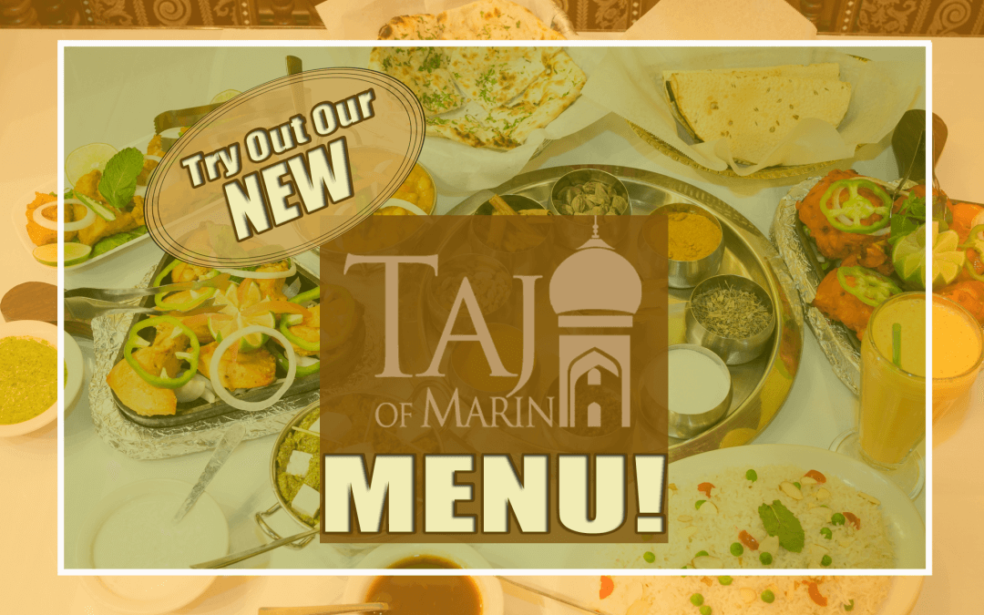 Taj of Marin New Menu