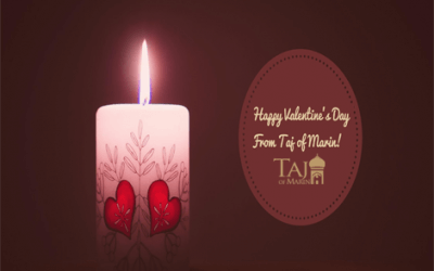 Happy Valentines Day from Taj of Marin!