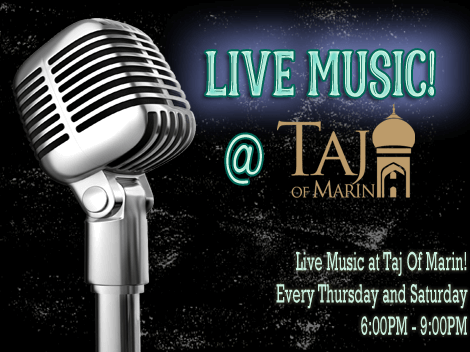 Enjoy Our Live Music!