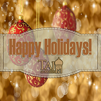 Happy Holidays from Taj of Marin