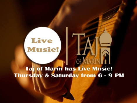Taj of Marin Live Music
