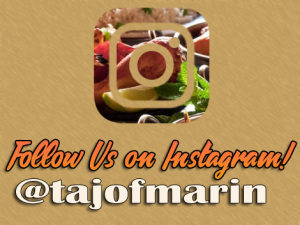 Taj of Marin is Now on Instagram