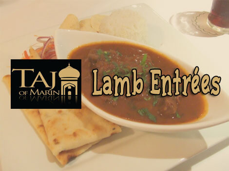Lamb Dishes Available on Taj