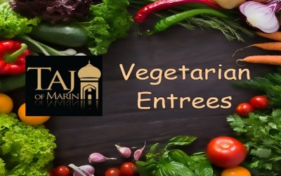 Vegetarian and Vegan are welcome at Taj of Marin
