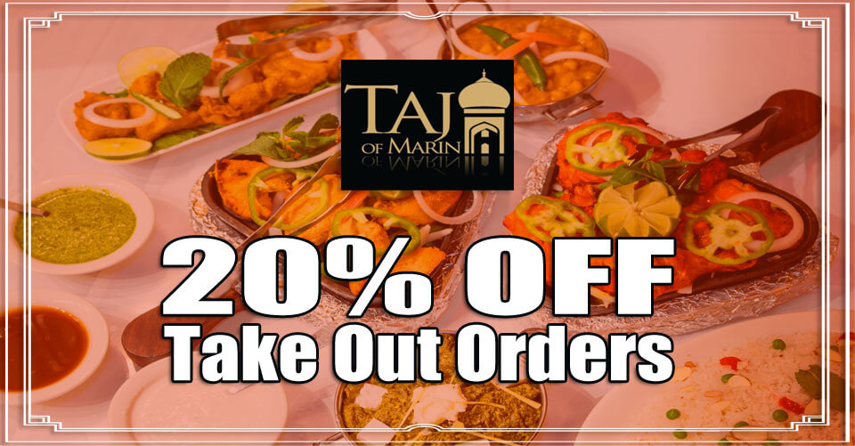 20% Off Your Take-Out Orders