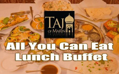 Lunch Buffet at Taj Of Marin