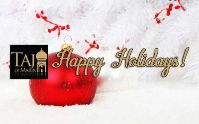 Happy Holidays! Merry Christmas! Happy New Year!