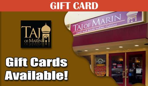 Taj of Marin Events Calendar