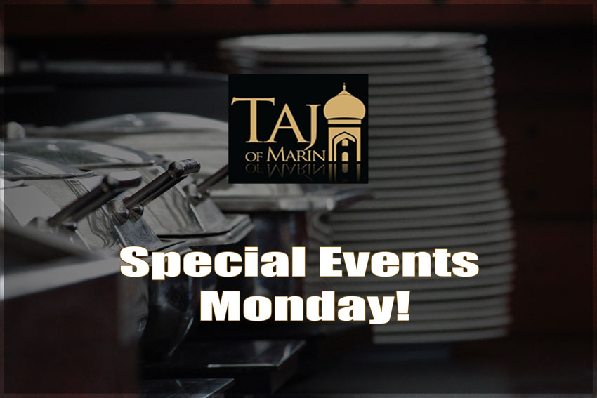 Special Events Monday