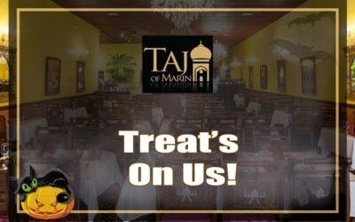 The Treat is on Taj