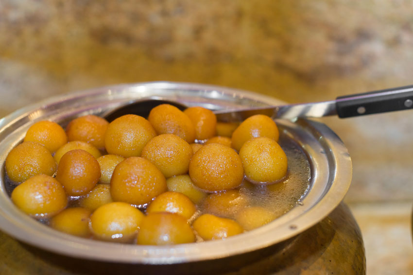 The Treat is on Taj - Gulab Jamun
